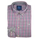 Camisa de cuadros Vichy 1737A
