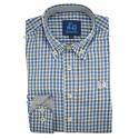 Camisa de cuadros Vichy 1738A