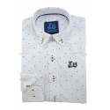 Camisa con topitos 1761C