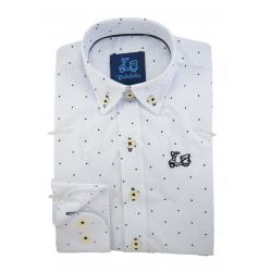 Camisa con topitos 1761A