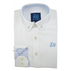 CAMISA OXFORD BLANCO 1771A
