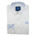 Camisa Oxford Blanco 1771C