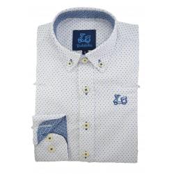 Camisa de topitos 1801A
