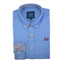 Camisa con estampado geométrico 1749A