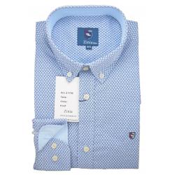 Camisa con estampado geométrico 1753Z