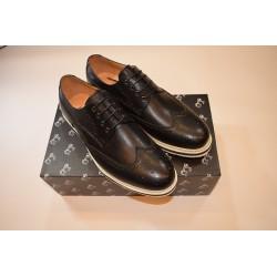 Zapatos Piel Negro