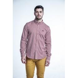 Camisa de Cuadros Rojos 1841B