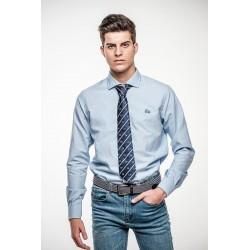 Camisa Celeste Cuello Italiano 888B