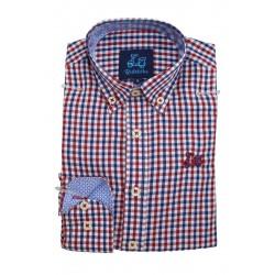Camisa de Cuadros Vichy 1824B
