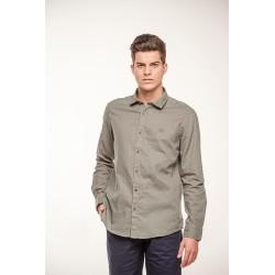 Camisa Lino Cuello Italiano 9101B