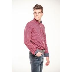 Camisa Cuadros Rojo  9203