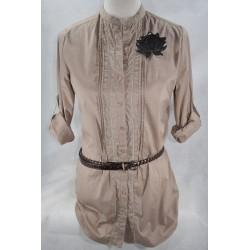 Camisa Sra. Algodón Lycra