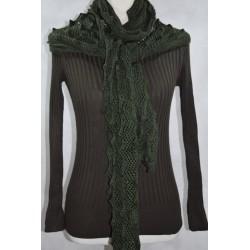 Jersey Lana con bufanda canalé