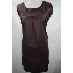 Vestido algodón lycra con bolsillo